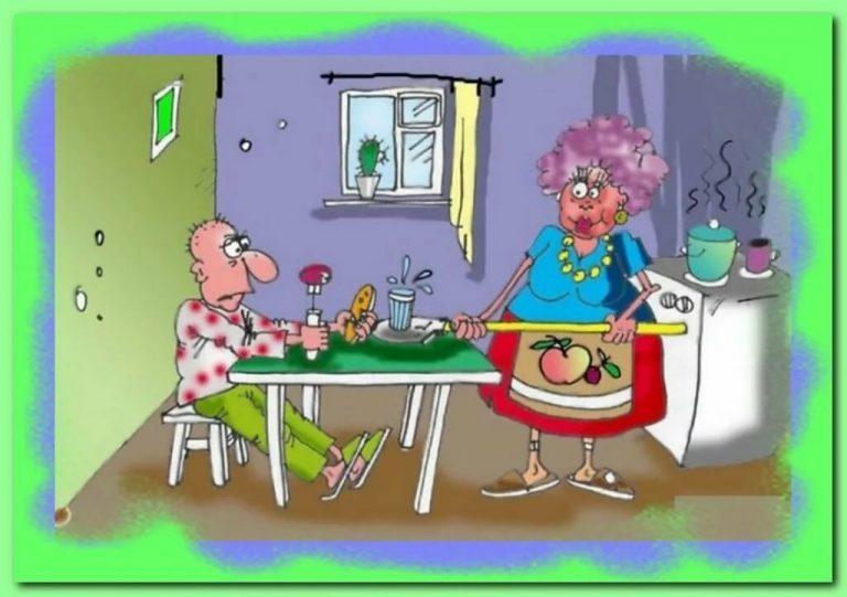 Риторический анекдот: Ужин при свечах одной семейной пары, для жены закончился на нара