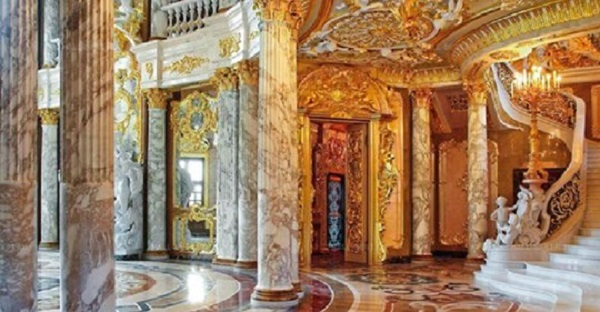 Дом богатейшего человека в России Алишера Усманова