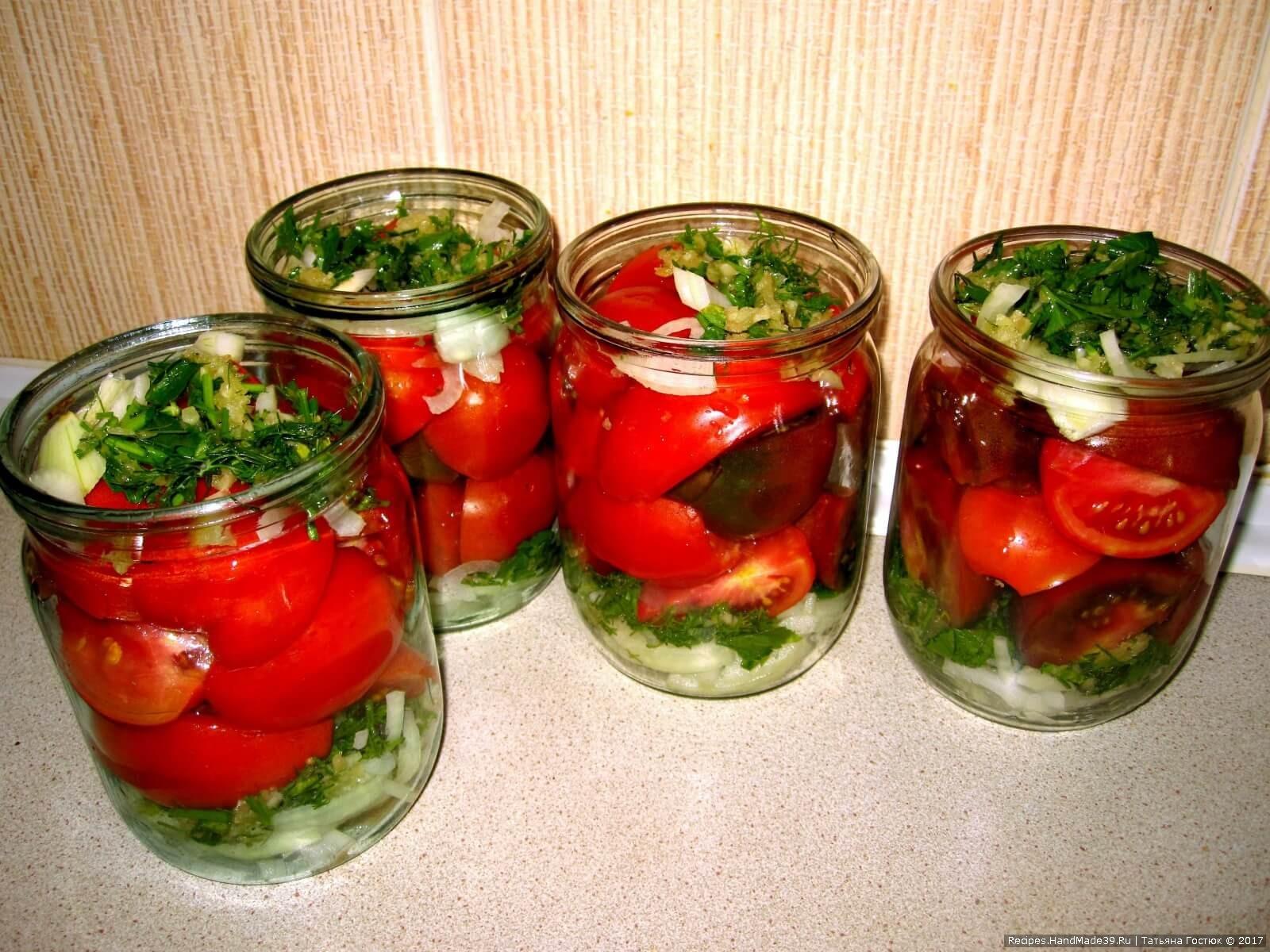 Рецепт изумительных томатов по польски. Жалею, что так мало закрыла!