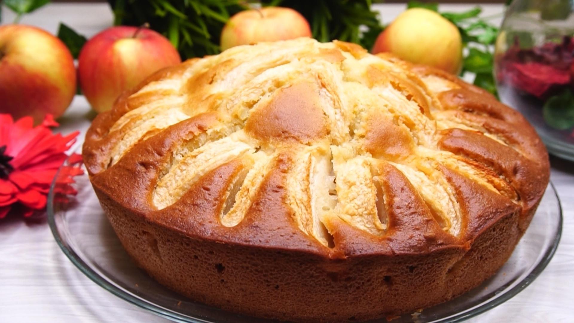 Рецепт восхитительного пирога с фруктами за 10 минут + время на выпечку