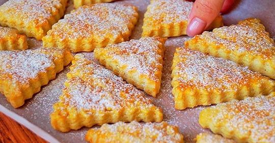 Рецепт нежного и очень вкусного печенья за 10 минут + выпечка