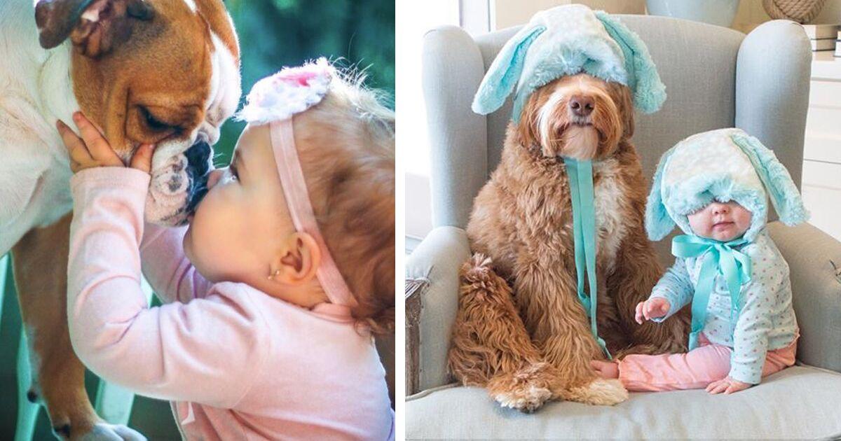 Животные и дети — между ними особая связь!