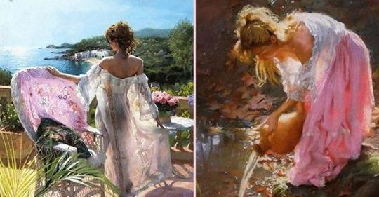 Восхитительные работы испанского художника, который сумел нарисовать свет.