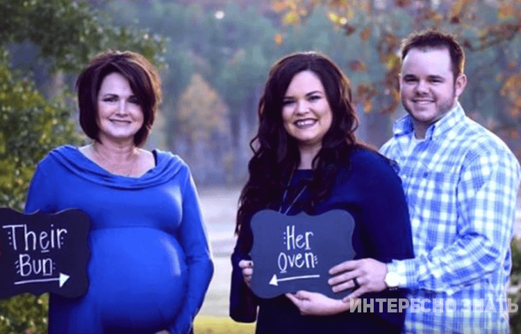 Бабушка стала суррогатной мамой, родив малыша своему сыну и невестке