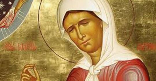 Молитва Матроне Московской от порчи
