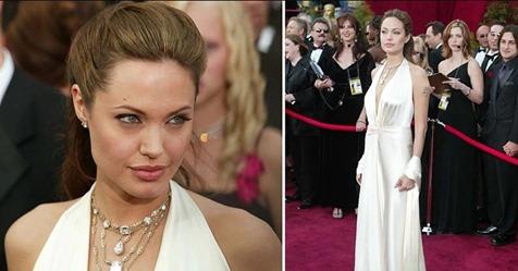 Лучшее платье за всю историю Оскара. Никто не смог превзойти Анджелину Джоли