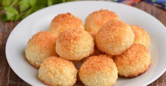 Быстрое и вкусное печенье без муки из 3-х ингредиентов