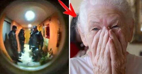 Старушка позвонила в полицию и сказала, что хочет кушать