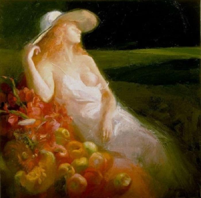 22 эротические картины испанки, которые запретили выставлять в галереях по всему миру.