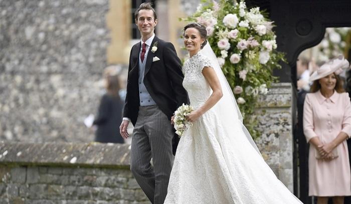 Как принцесса: Пиппа Миддлтон сразила гостей своим подвенечным платьем