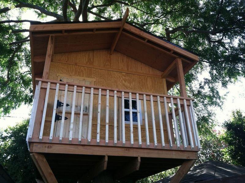 Как сделать домик на дереве своими руками