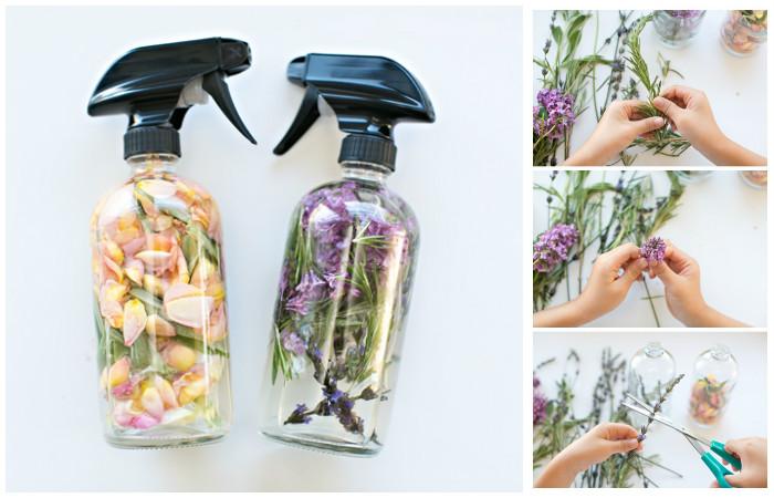 Как сделать полностью натуральный освежитель, который наполнит дом ароматом весны