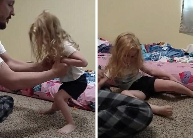 Эта девочка внезапно перестала держаться на ногах. Тогда медики осмотрели ее волосы…