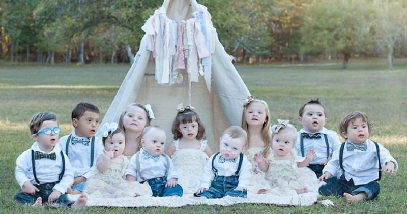 Фотограф делает чудесные портреты детей ссиндромом Дауна