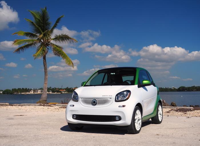 Электрический ситикар Smart ForTwo ED   практически идеальный автомобиль для города