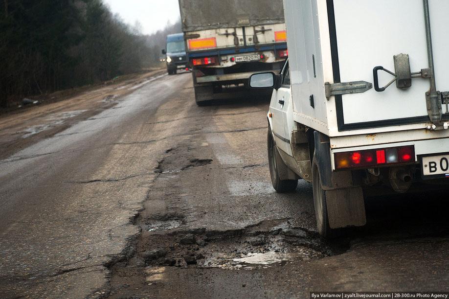 10 причин, почему в России плохие дороги