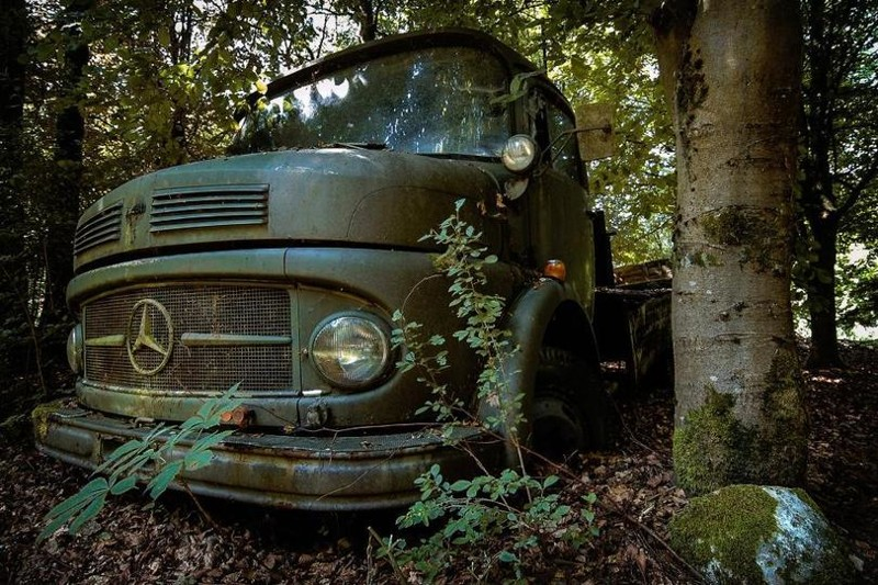Заброшенные автомобили