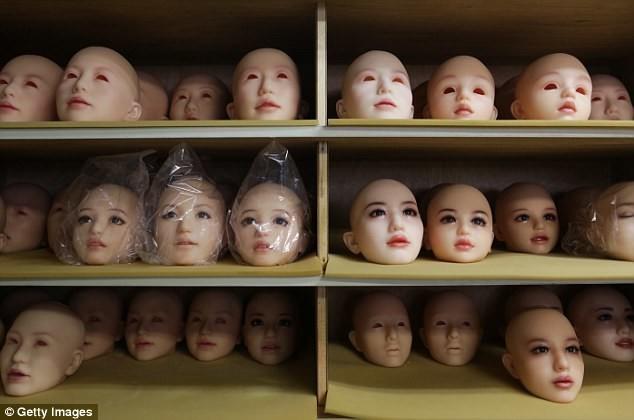 Фабрика любви: фотоотчет оработе старейшего вЯпонии производителя секс кукол
