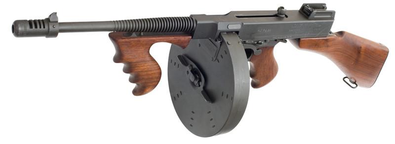 Пистолет пулемет Томпсона