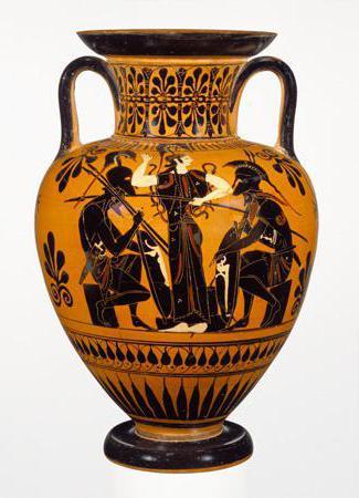 Греческая ваза: виды, орнаменты и узоры